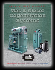 Cain Industries Gas & Diesel Cogeneration Systems PDF Brochure