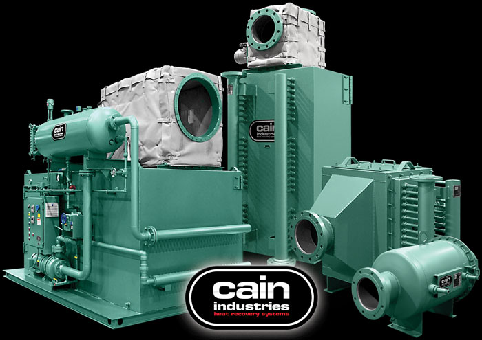 Cain Industries Cogeneration Exhaust Heat Recovery