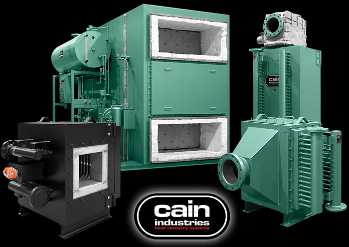 Cain Industries Fume Incineration Exhaust Heat Recovery